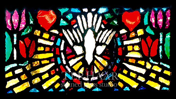 stained-glass-art_billet-glass_dove_stained-glass-window_house-of-worship_terhaarglass.com