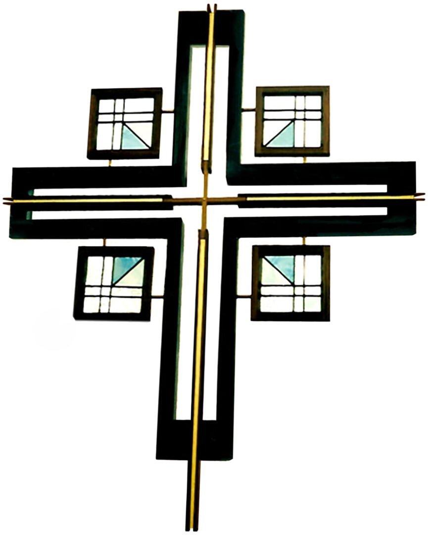 stained-glass-art_processional-cross_stained-glass-sculpture_house-of-worship__terhaarglass.com