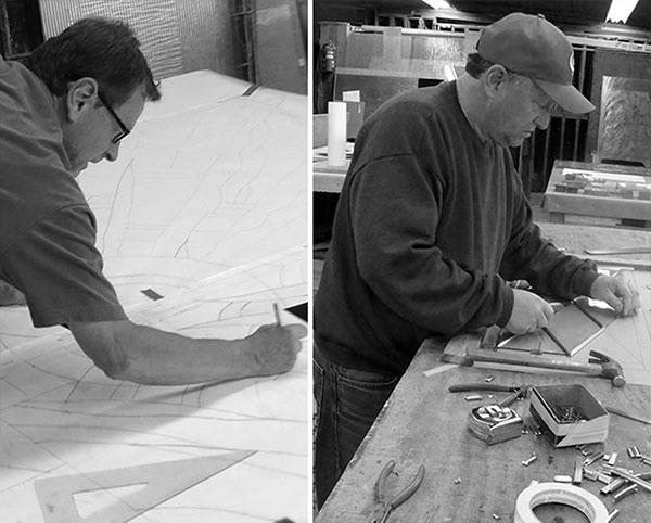 gary-terhaar_stained-glass-artisan_president-emeritus_director-of-client-relations_sons_tom-terhaar_stained-glass-artisan_master-craftsman_terhaarglass.com